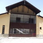 Pereti cortina din aluminiu - Casa de cultura din Iacobeni, Suceava