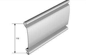 Rulouri metalice antiefractie lamele pline