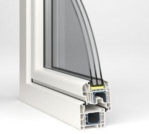 termopane Aluplast - profil ideal 4000