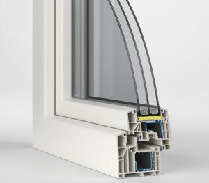 termopane Aluplast - profil ideal 8000