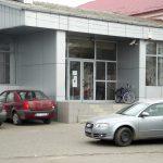 lucrare placare alucobond si usa exterioara tamplarie aluminiu - supermarket Saveni