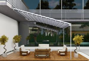 Pergola inclinata tip veranda Gaviota