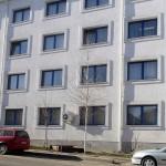 ferestre si usi din PVC albastru cu geam termopan_Agentia pentru Ocuparea Fortei de Munca Botosani