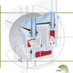 Termopane veratec - profile pvc veratec culisante 7400