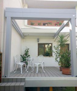 acoperis retractabil terase